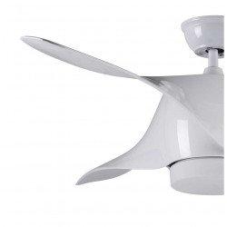 Ventilador de techo Design 127 cm de diámetro, LED, mando a distancia y ultra silencioso.