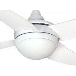 Artus blanco ventilador de techo para habitaciones de 15 a 20 m2. de LBA Home