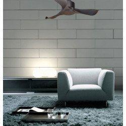 KlassFan Módulo- ventilador de techo, super destratificador, acabado en negro, moderno, termostato, wifi.