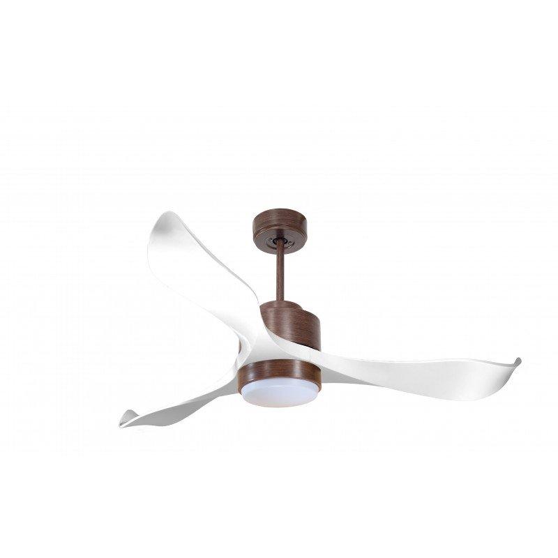 Modulo de KlassFan - Super destratificador de aire, con luz blanca y madera. Ideal para 70 a 90 m² DC2_P2Wi_L1Wo