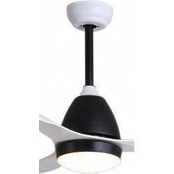 Fresh de KlassFan, un ventilador destratificador de techo con diseño ultra silencioso equipado con un termostato