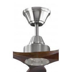 Soft KlassFan, ventilador de techo CC , de diseño 152 cm, aspas de madera ultra silenciosas.