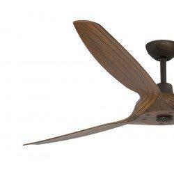 Ventilador de techo Diseño de DC 152 Cm aspasABS madera motor Basalt Faro Morea
