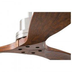Ventilador de techo, de diseño, aspas de nogal macizo Faro de Lantau 33370