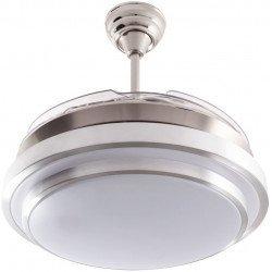 LBA HOME Shadow Classic, un poderoso punto de luz con aspas retráctiles, un ventilador altamente eficiente y discreto.