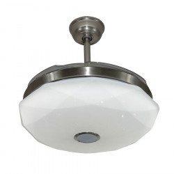Shadow Diamond de LBA HOME, un potente punto de luz con aspas retráctiles, un ventilador muy eficiente.