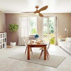 Hilux de Lba Home un ventilador de techo de diseño DC, más compacto, 3 tonos LED