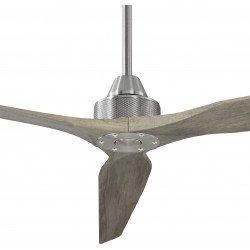 SOFT KLASSFAN- Ventilador de techo alto, grande 178 cm DC. Sin luz. Con mando. Potente. Ultra silencioso. Reversible.